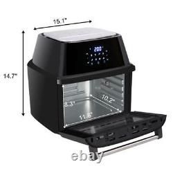 16.9QT Multi-function 1800W Power Air Fryer Oven All-In-One 16L XL Dehydrator