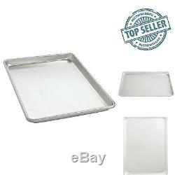 16x22 Large Durable Aluminum Metal Oven Baking Sheet Pan Commercial Grade