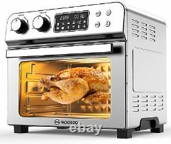 1700W Large Air Fryer Convection Toaster Oven 24 QT/6 Slices ETL Certification