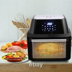 1800W Power Air Fryer Oven All-In-One 16L XL Dehydrator Grill Rotisserie 16.9QT