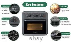 21QT Air Fryer Toaster Oven Convection for Air Fry/Air Roast/Toast/Broil/Bake US