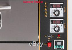 220V/6KW Commercial Electric Baking Oven Professional Pizza Cake Bread Oven
