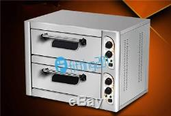 220V two-deck 6.8kw Commercial electric oven baking equipment