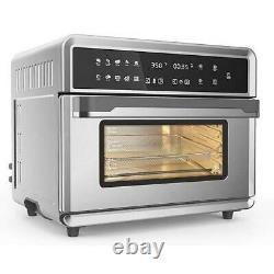 30Qt Touchscreen Air Fryer Toaster Oven with 3 Cooking Levels, Dehydration ARIA