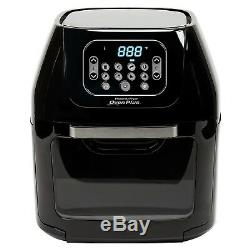 6 Quart Power Air Fryer Oven Plus Grill Bakes Roast Fry Or Dehydrates Food