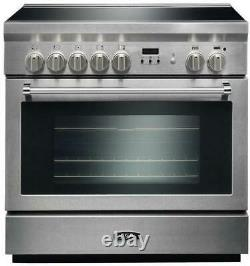 AGA Professional Series 36 Inch True Convection Induction Range AMPRO36INSS