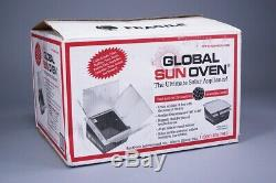 ALL AMERICAN GLOBAL SUN OVEN COOK BAKE BOIL SUN POWERED COOKER With 1 POT LOOK