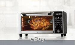 Air Deep Fryer Convection Toaster Oven Broil Bake Digital Oil Free 1500W Emeril