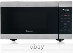 Air Fry Countertop Microwave 0.9 cu ft Fryer Convection Oven Stainless Steel