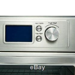 Air Fryer Toaster Oven Bake Roast Toast Multifunctional Cook Stainless Steel