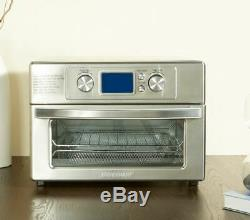 Air Fryer Toaster Oven Combo Airfryer Cooker Timer Auto Shut Off Toast Warm Bake