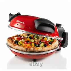 Ariete 0909 Oven Cook Pizza IN 4 Minutes Oven Stone Refractory Ø33cm