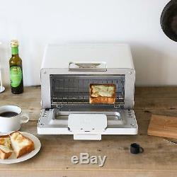 BALMUDA Steam Toaster oven K01E-WS White easy cooking from Japan DHL Fast Ship