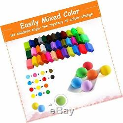 BBLIKE Polymer Clay, 36 Colors Oven Bake 5 Sculpture Tool Set and Accessories