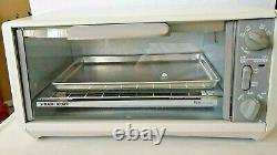 Black & Decker TRO 200 Toast-R-Oven Under Cabinet Spacemaker Toast Broil RV New