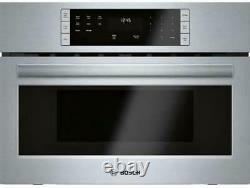 Bosch 500 Series 27'' 1.6 LCD Controls Built-In Microwave Oven HMB57152UC Images