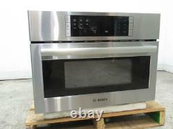 Bosch 500 Series 27 SS 1.6 LCD Controls Built-In Microwave Oven HMB57152UC