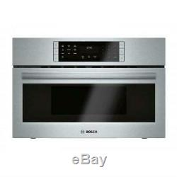 Bosch 800 30 2-in-1 Built-In Stainless Covenction Microwave Oven HMC80252UC