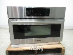 Bosch 800 30 SS 2-in-1 1.6 Cu. Ft Built-In Covenction Microwave Oven HMC80252UC