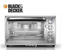 Brand NEW Black & Decker 9-Slice Convection Countertop Oven TO4304SS