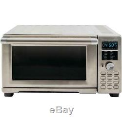 Bravo XL 1 800 W 4-Slice Stainless Steel Toaster Oven and Air Fryer by NuWave