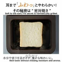Bread oven Mitsubishi Electric TO-ST1-T Retro brown toaster from Japan DHL Fast