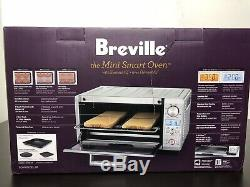 Breville Mini Smart Oven with Element IQ Bake Broil Roast 8 Smart Cook Function