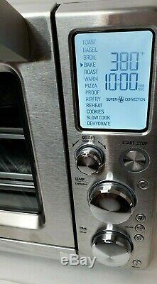 Breville the Smart Oven Air BOV900BSS Toaster Oven Brushed Stainless Steel