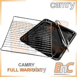 CAMRY Oven Electric 1800 W 45 L Compact Table Top Grill Baking Cooking Roast