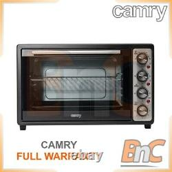 CAMRY Oven Electric 2000 W 45 L Compact Table Top Grill Baking Cooking Roast