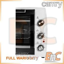 CAMRY Oven Electric 2200 W 63 L Compact Table Top Grill Baking Cooking Roast