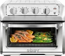 CHEFMAN Toast-Air 6-Slice Convection Toaster Oven + Air Fryer Silver