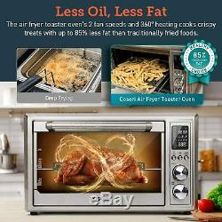 COSORI 12-in-1 Air Fryer Toaster Oven Convection Roaster Rotisserie & Dehydrator