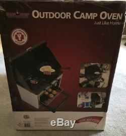 Camp Chef Outdoor Camp Oven, Plus Two 5,300 Btu Matchless Igniter Brass Burners