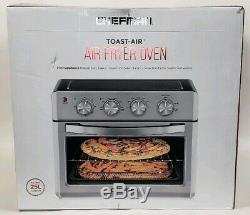 Chefman Convection Air Fryer Toaster Oven X-Large 25L, 6 Slice, Toast Bake Broil