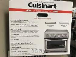 Convection Toaster Oven-Air Fryer with Light, Silver- Cuisinart TOA-60