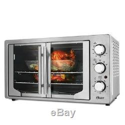 Convection Toaster Oven Countertop Double Rack Large Stainless Steel Oster Cook