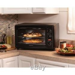 Convection Toaster Oven Countertop Rotisserie Kitchen Counter Pizza Chicken Bake