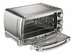 Countertop Extra Large Convection Toaster Oven Pizza Chicken Roast Bake Broil