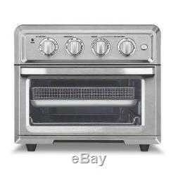 Cuisinart 1800W 0.6 Cu. Ft. Electric Air Fryer Toaster Oven Stainless Steel