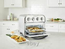Cuisinart 4-Slice Convection Toaster Oven + Air Fryer Stainless Steel