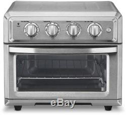 Cuisinart Air Fryer Toaster Oven Fry Countertop Baking Toast Brushed Stainless