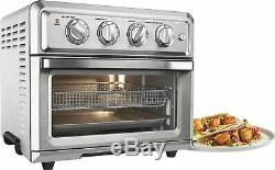 Cuisinart Air Fryer Toaster Oven Stainless Steel