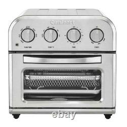 Cuisinart Compact 1.2 qt. Silver Airfryer Toaster Oven