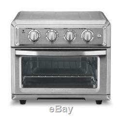 Cuisinart Convection Toaster Oven Air Fryer with Light, Silver