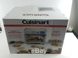 Cuisinart Digital TOA-65 AirFryer Toaster Oven, Silver