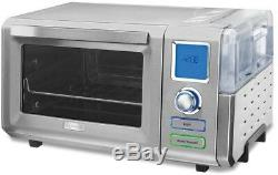 Cuisinart Stainless Steel Steam Convection Toaster Oven Steam Bake Steam Broil