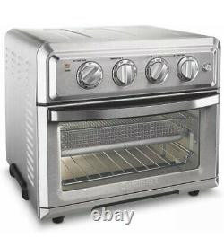 Cuisinart TOA-60 1800W Stainless Steel Air Fryer Toaster Oven Silver No Manual