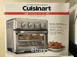 Cuisinart TOA-60 Air Fryer Convection Toaster Oven, Stainless Steel