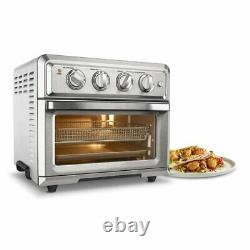 Cuisinart TOA-60 Air Fryer Toaster Oven Silver